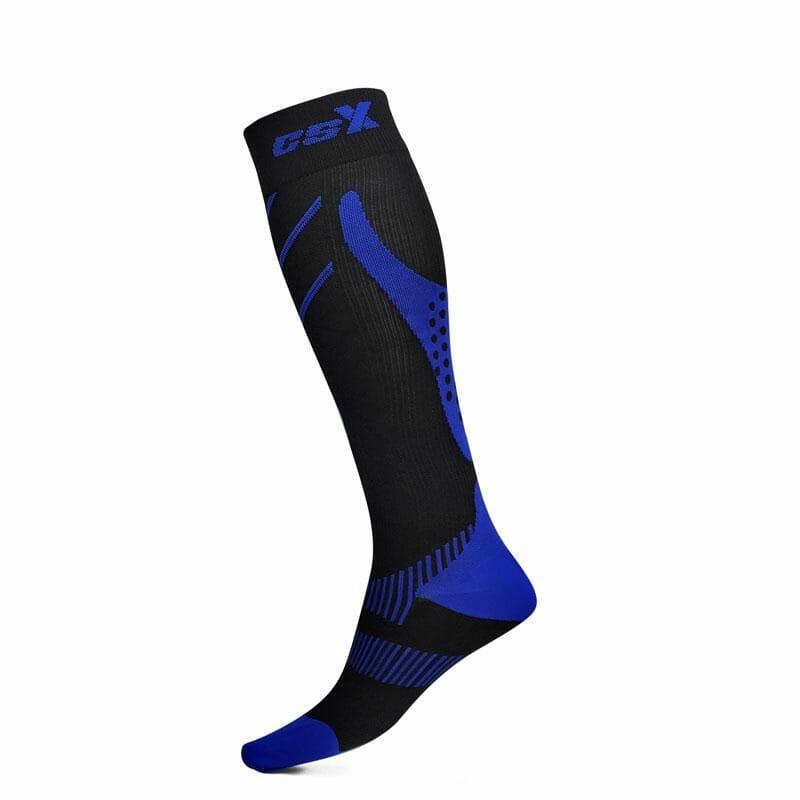 Socks CSX X200 – Royal Blue & Black