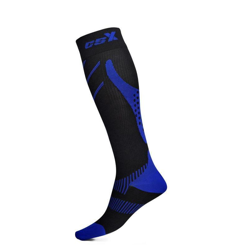 Socks CSX X200 - Royal Blue & Black