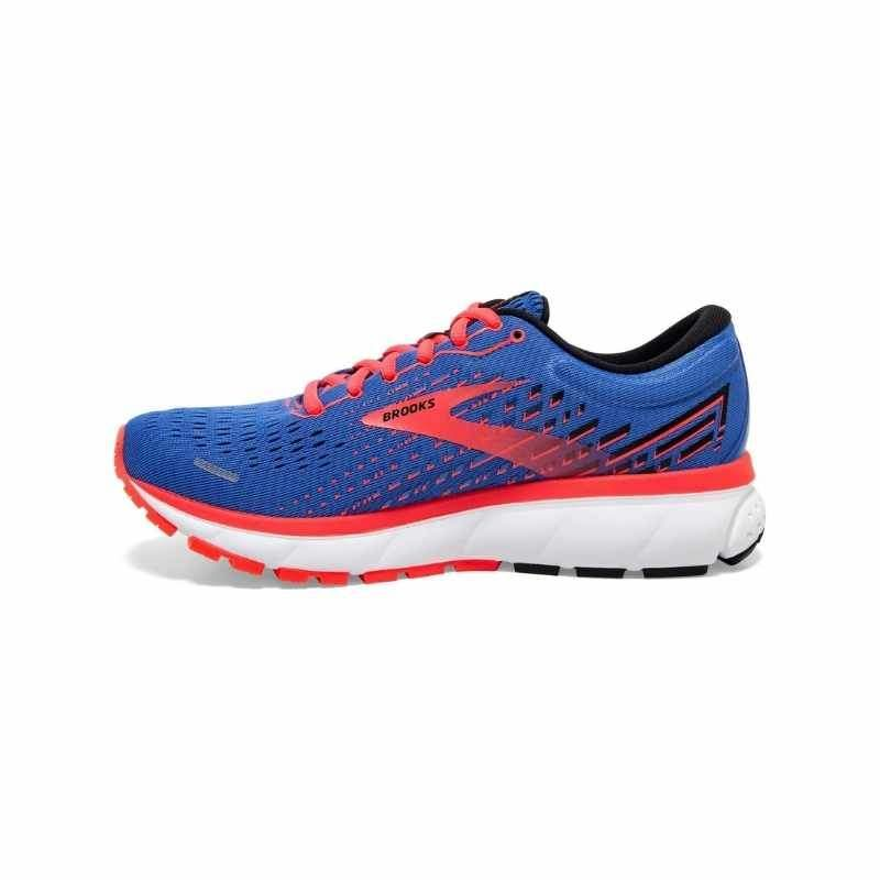 Women's Brooks Ghost 13 – Blue/Coral
