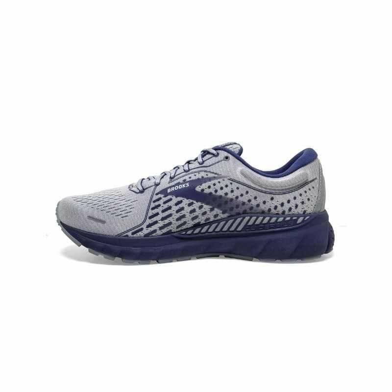 Men's Brooks Adrenaline GTS 21 - Grey/Blue