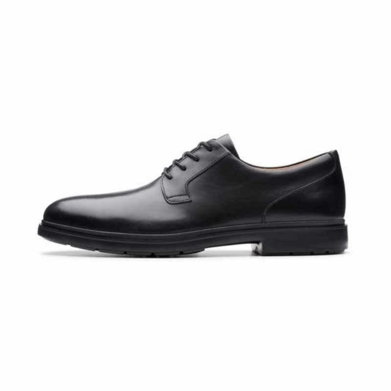 Men's Clarks Un Tailor Tie – Black