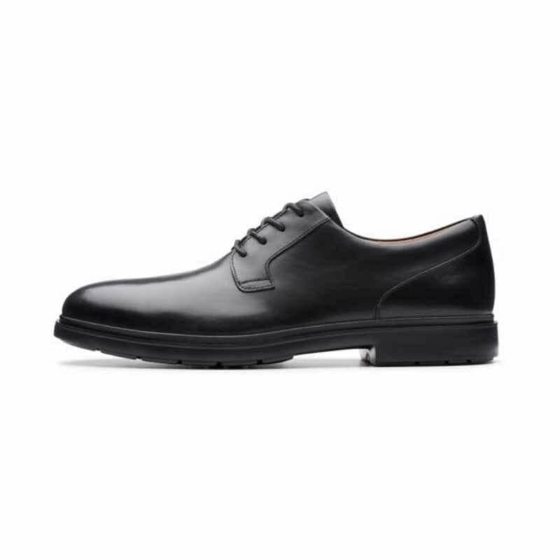 Men's Clarks Un Tailor Tie - Black