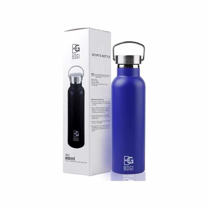 Insulated Stainless Steel Water Bottle, 20oz by BOGI