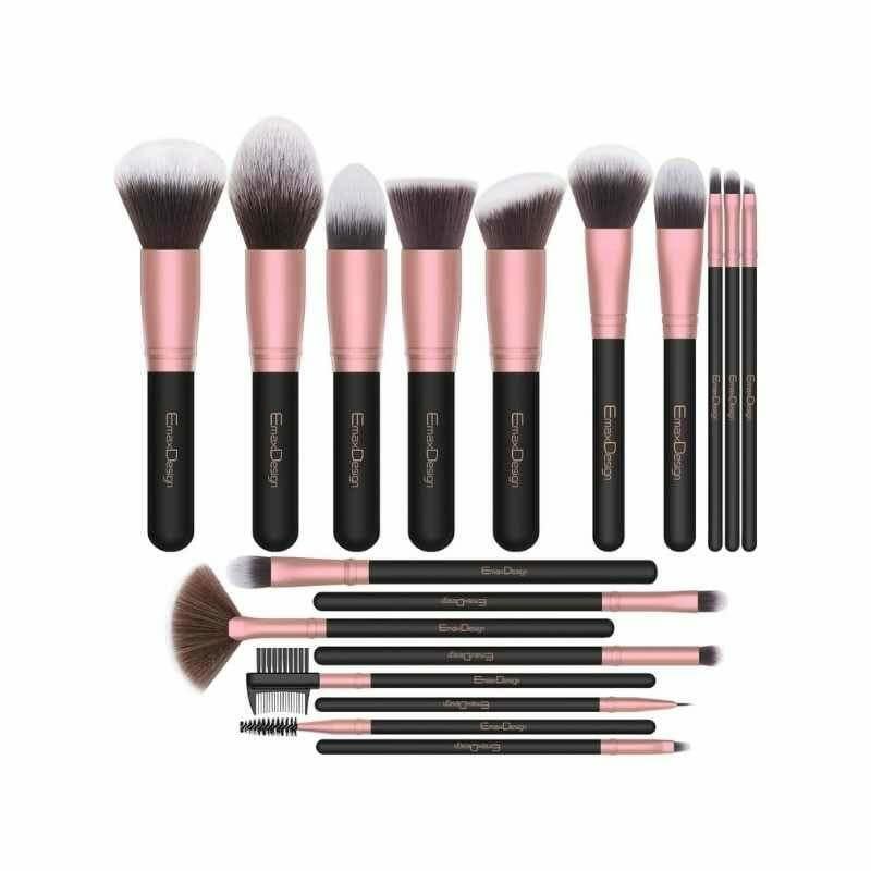 Professional Makeup Brush Set (18 Pcs)