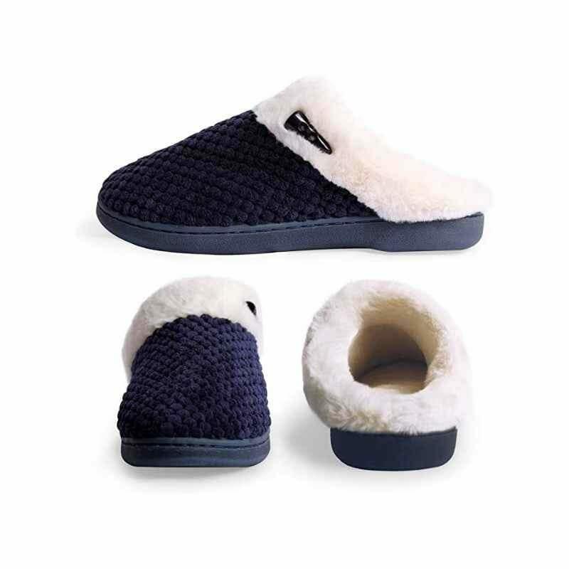 Soft Memory Foam House Slippers