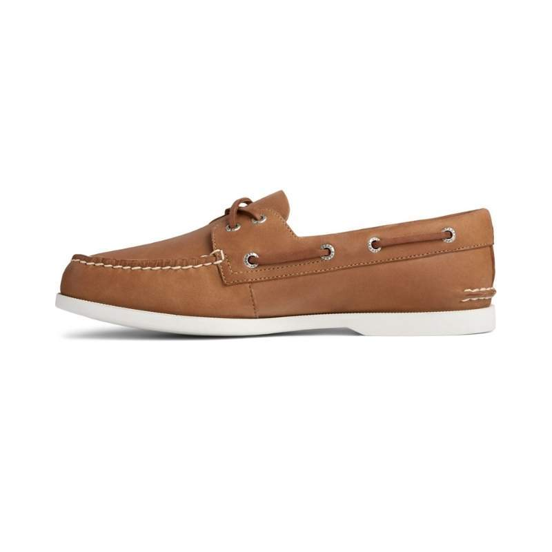 Men's Sperry A/O PLUSHWAVE Boat Shoe - Tan