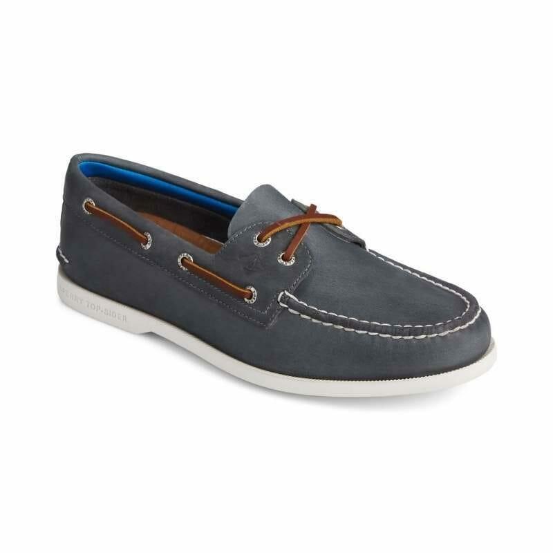 Men's Sperry Authentic Original PLUSHWAVE Boat Shoe Navy