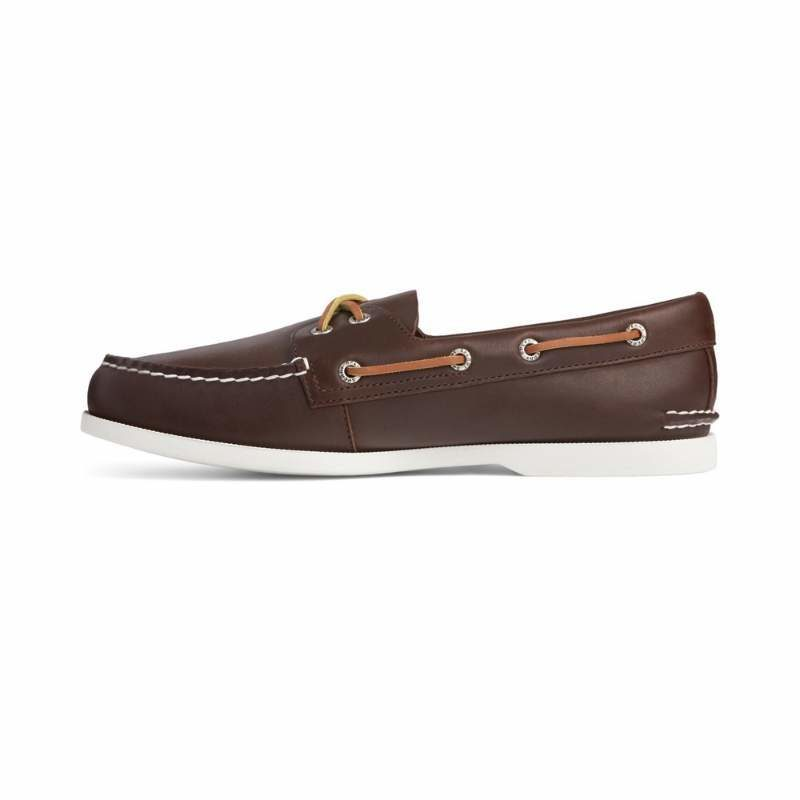 Men's Sperry Authentic Original PLUSHWAVE Boat Shoe Brown